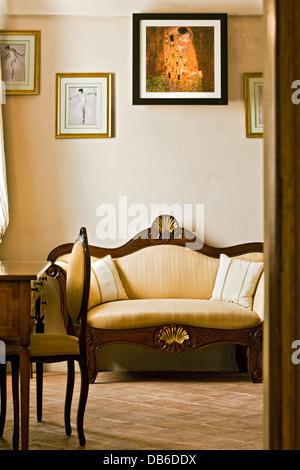 Detail of a livingroom - Stock Photo