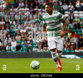 Celtic Park, Glasgow, Scotland. 23rd July, 2013. UEFA Champions League qualification, second leg. Celtic FC versus - Stock Photo