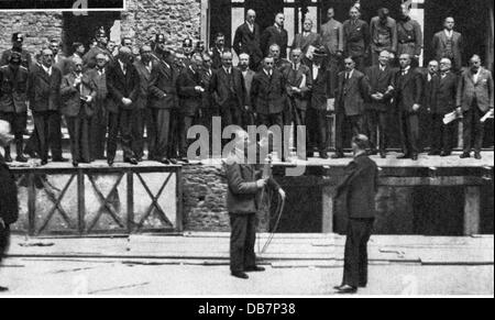 justice, lawsuits, Reichstag Fire trial, IV criminal division of the Reichsgericht, Leipzig, 21.9. - 23.12.1933, - Stock Photo