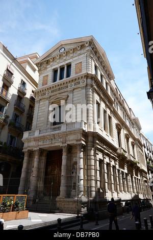 escuela de artes aplicadas y oficios artisticos Barcelona Catalonia Spain - Stock Photo
