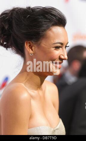 Naya Rivera 22nd Annual GLAAD Media Awards at San Francisco Marriott Marquis  San Francisco, California, USA - 14.05.11 - Stock Photo