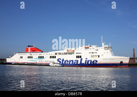 Stena Line Belfast to Birkenhead Ferry - Stock Photo