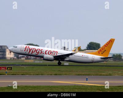TC-AVP Pegasus Boeing 737-82R(WL) - cn 38175 1 - Stock Photo