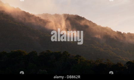 Mount Kinabalu, Malaysia's highest mountain, Sabah, Malaysia - Stock Photo
