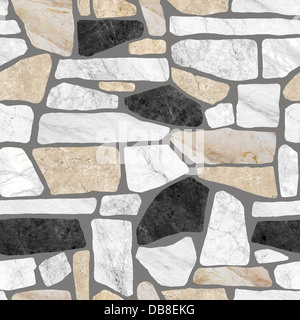 Wall stone pattern background  (High Res.) - Stock Photo