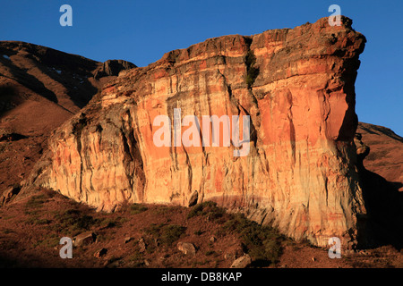 Brandwag Buttress in Golden Gate Highlands National Park, Free State, South Africa - Stock Photo