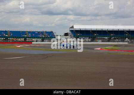 Silverstone, Northants, UK. 26th July, 2013. Silverstone Classic 2013 - Friday Credit:  Any4 Photography/Alamy Live - Stock Photo