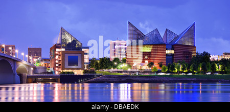 Downtown Chattanooga, Tennessee, USA. - Stock Photo