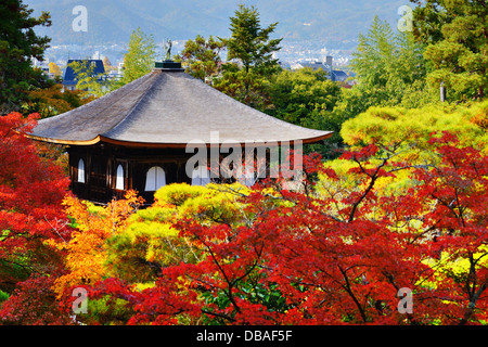 Ginkaku-ji Temple in Kyoto, Japan during the fall season. nov 19 - Stock Photo