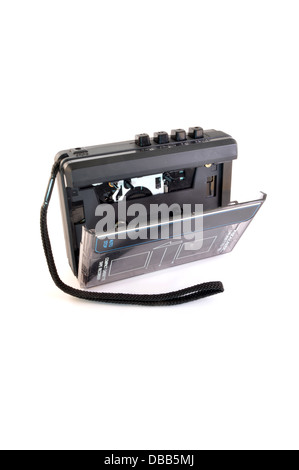 cassette tape recorder - Stock Photo