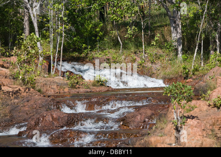 buley rock holes in litchfield national park,northern territory,australia - Stock Photo