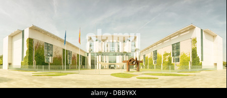 German Chancellery - Stock Photo