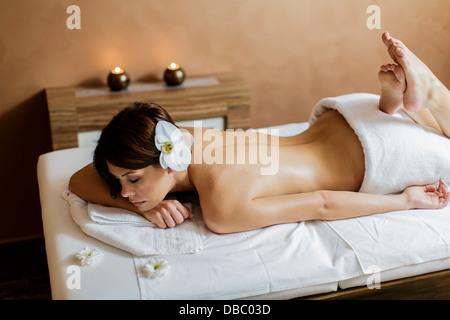 Massage - Stock Photo