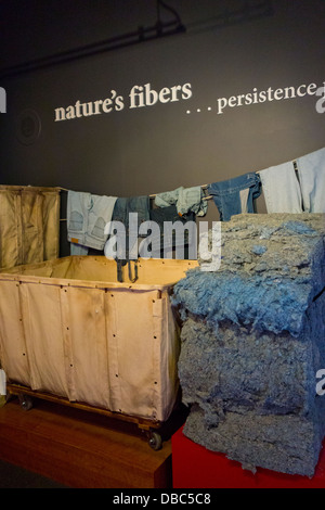 American Textile History Museum in Lowell MA - Stock Photo