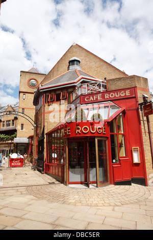 Cafe Rouge in Kensington lONDON - Stock Photo