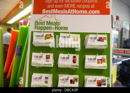 Grocery Coupons Stock Photo Alamy