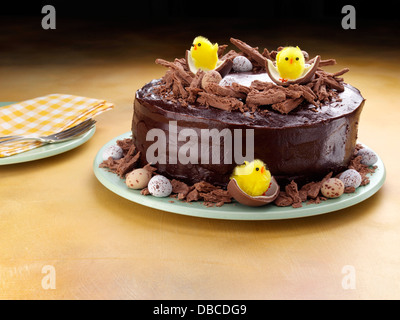 Easter cake - Stock Photo
