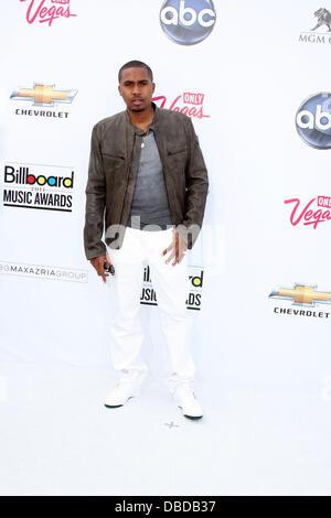 Nas at the 2011 Billboard Music Awards at MGM Grand Garden Arena. Las Vegas, Nevada - 22.05.11 - Stock Photo