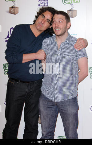 Micky Flannigan and Jon Richardson Channel 4's Comedy Gala - Arrivals. London, England - 24.05.11 - Stock Photo