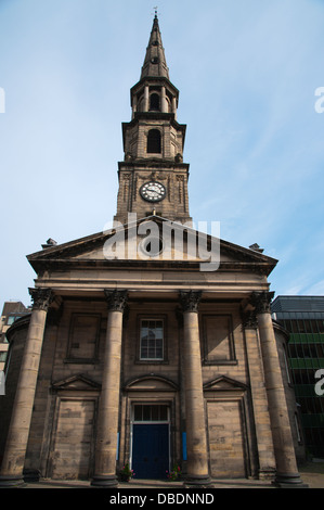 St Andrew's and St George's West Church in George Street new town Edinburgh Scotland Britain UK Europe - Stock Photo
