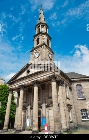 St Andrew's and St George's West Church in George Street central Edinburgh Scotland Britain UK Europe - Stock Photo