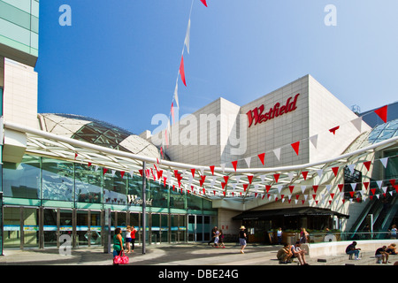 Westfield shopping centre at Shepherds Bush in the Borough of Hammersmith&Fulham, London - Stock Photo