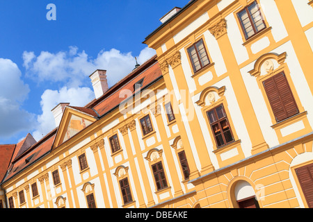 Jaromerice Palace cathedral and gardens in Southern Moravia