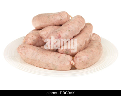 Cumberland Sausages - Stock Photo
