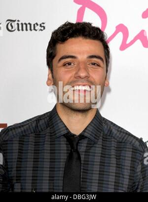 Oscar Isaac 2011 Los Angeles Film Festival - 'Drive' Gala Premiere Held At Regal Cinemas L.A. Live Los Angeles, - Stock Photo