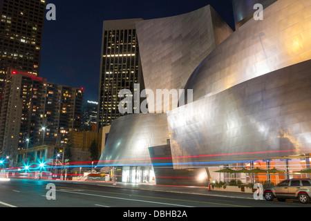 Walt Disney Concert Hall in Los Angeles, California - Stock Photo