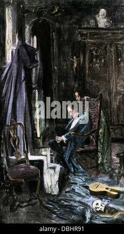 twin imagery in edgar allan poes the fall of the house of usher Written as part of edgar allan poe's short story the fall of the house of usher, the poem the haunted palace uses a decaying and haunted mansion as a chilling metaphor for insanity.