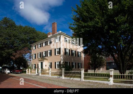 Salem Maritime National Historic Site / Hawkes House [1780] - Stock Photo