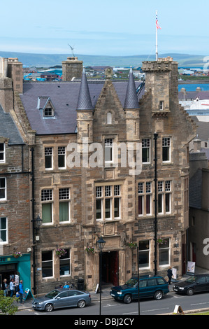 Kirkwall Town Hall and Community Centre, Orkney. - Stock Photo