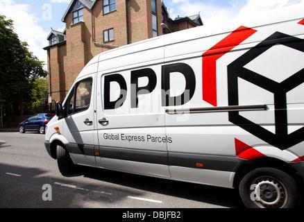 DPD Van - Postal Courier Deliveries in London UK