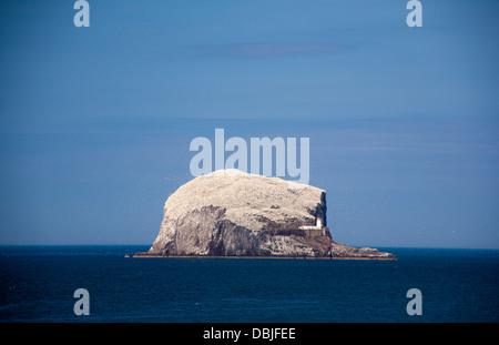 Bass Rock, North Berwick, East Lothian, Scotland - Stock Photo