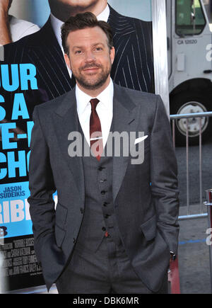 Jason Sudeikis The Los Angeles premiere of 'Horrible Bosses' at the Graumans Chinese Theater - Arrivals Los Angeles, - Stock Photo