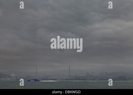stonecutters bridge hong kong sar china - Stock Photo
