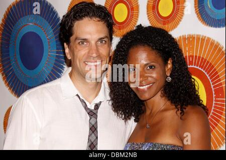 Will Swenson and Audra McDonald Opening night after party for the Broadway musical production of 'Hair: Summer of - Stock Photo