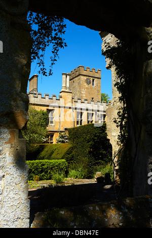 Sudeley Castle near Winchcombe, Gloucestershire, England, UK - Stock Photo