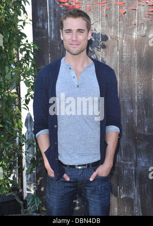Dustin Milligan     'Shark Night 3D' photo op held at Petco park.  Los Angeles, California - 20.07.11 - Stock Photo