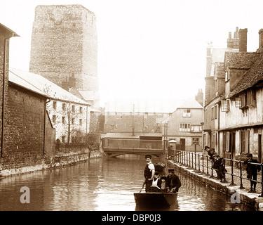 Oxford Castle Victorian period - Stock Photo