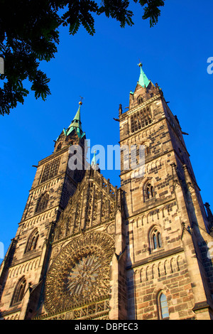 St. Sebald Church (St. Sebaldus Church), Nuremberg, Bavaria, Germany, Europe - Stock Photo