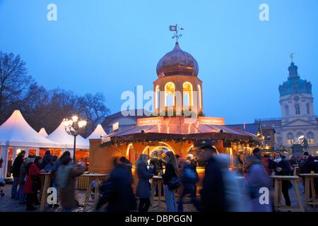 Xmas Market, Charlottenburg Palace, Berlin, Germany, Europe - Stock Photo