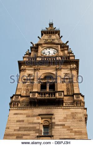 Liverpool City Council, Municipal Buildings, Dale Street, Liverpool, UK - Stock Photo