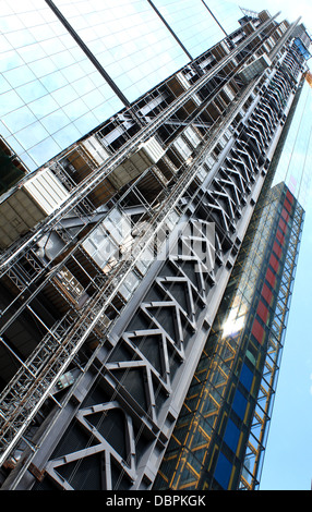The Leadenhall building under construction in The City London United Kingdom - Stock Photo