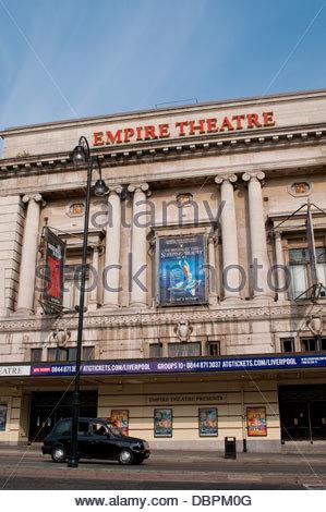 Empire Theatre, Liverpool, UK - Stock Photo