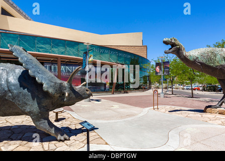 New Mexico Museum of Natural History and Science, Albuquerque, New Mexico, USA - Stock Photo
