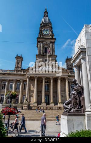 Bolton Town Hall - Stock Photo