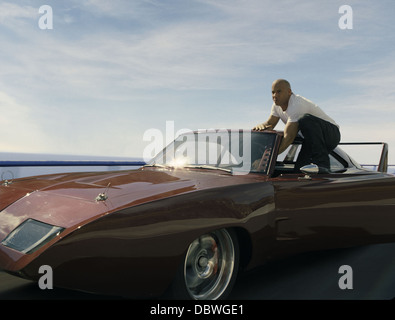 FAST AND FURIOUS 6 (2013) VIN DIESEL JUSTIN LIN (DIR) 003 MOVIESTORE COLLECTION LTD - Stock Photo