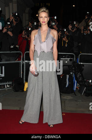 Charlize Theron The GQ Men of the Year 2011 - Arrivals London, England - 06.09.11 - Stock Photo